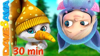 😼 Little Bunny Foo Foo and More Nursery Rhymes and Kids Songs | Dave and Ava 😼