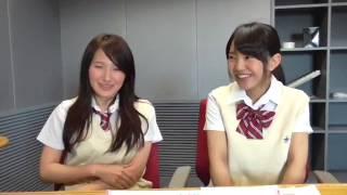 Uchiyama Mikoto vs Yamada Juna SKE48 1+1は2じゃないよ! 2015年06月0...