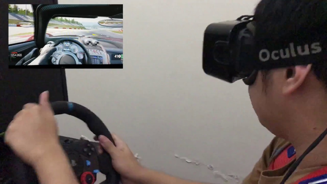 Project Cars In Virtual Reality Racing Simulator Youtube