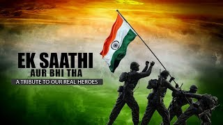 Ek saathi aur bhi tha|| Cover Song Gautam Sajwaan|| A Tribute to Our Real Heroes