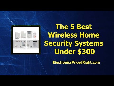 Best Home Surveillance System >> The 5 Best Wireless Home Security Systems Under $300 - YouTube