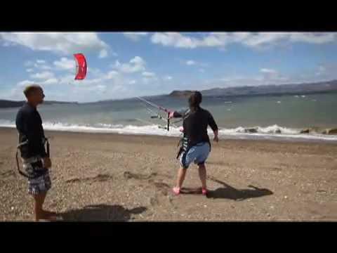 Recreo Windwing Learn to Kite Week Part 3