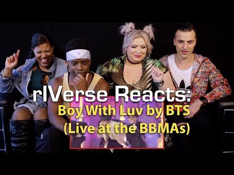 rIVerse Reacts: Boy With Luv by BTS feat Halsey -  BBMA Performance Reaction