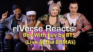 rIVerse Reacts: Boy With Luv by BTS (feat. Halsey) - Live BBMA Performance Reaction