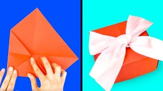 16 SIMPLE ORIGAMI PAPER CRAFTS