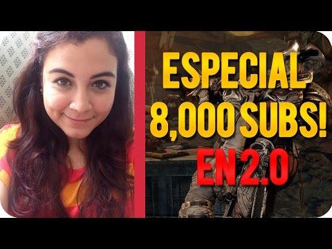 ¡Especial 8000 SUBS!♥ BabiiBL: El Regreso... y la matan los bots. | GOW3 en 2.0!♥