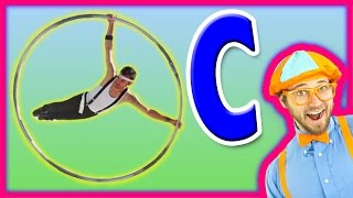 Learn the Alphabet for Toddlers - The Letter C Preschool Activity - Cyr Wheel