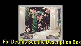 Creative 3D Wall Painting Peacock Art For Wallpaper