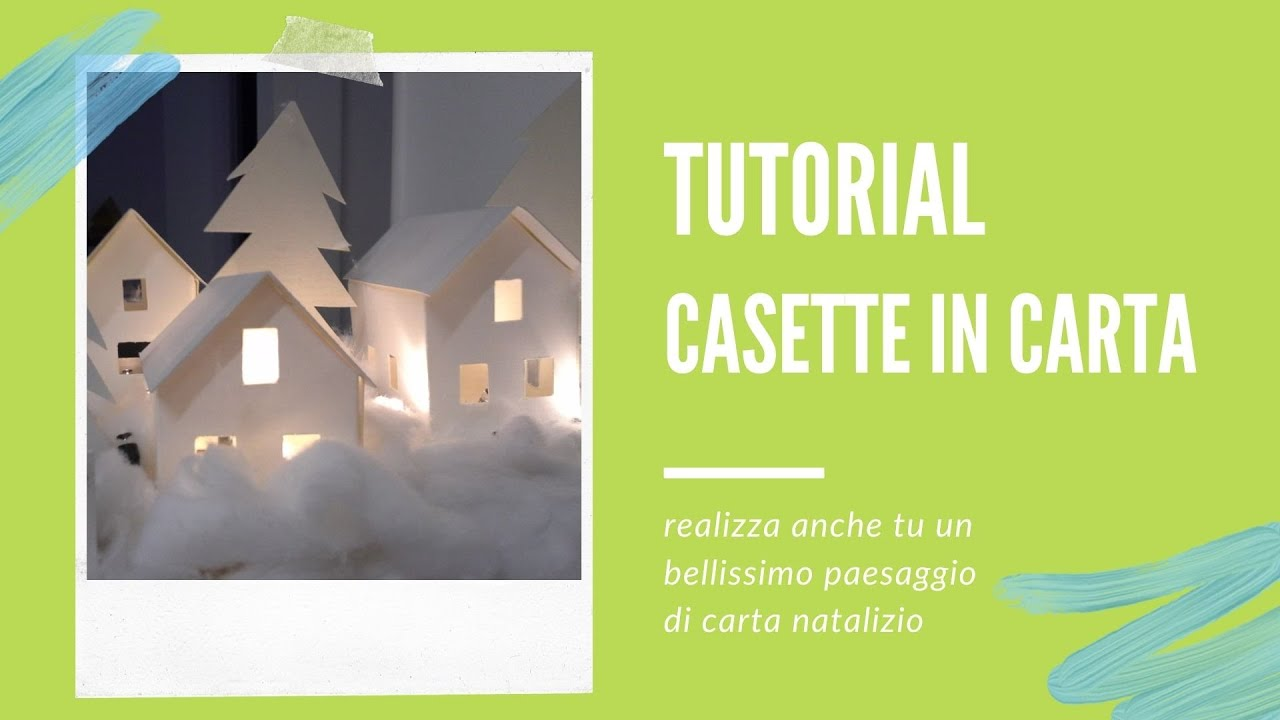 Diy creative stuff video tutorial casette di carta youtube for Casetta di cartone per bambini fai da te