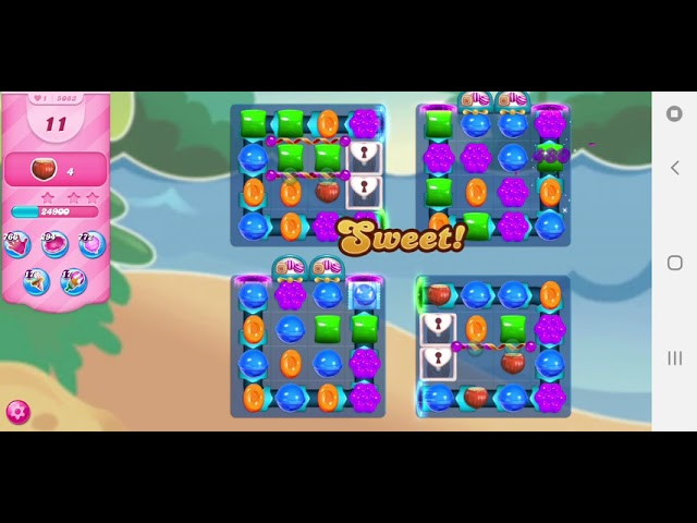 Candy Crush Saga level 5083