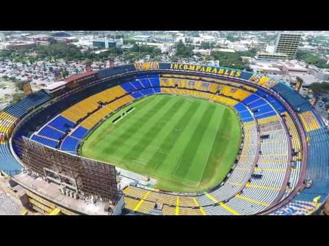 Estadio Universitario El Volcan Phantom 4 by HT