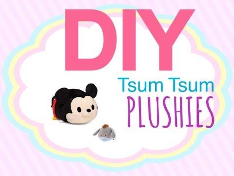 DIY Tsum Tsum Inspired Plush