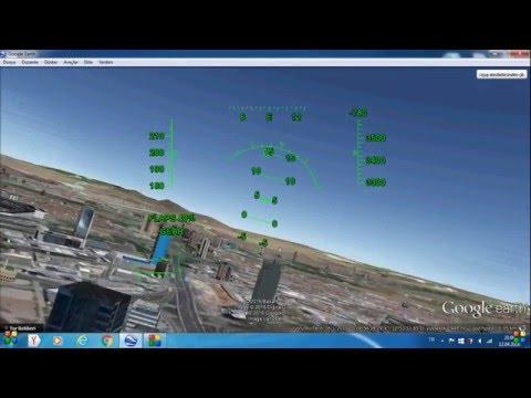 Google Earth Uçuş Simulatörü - F-16 Gözünden Ankara