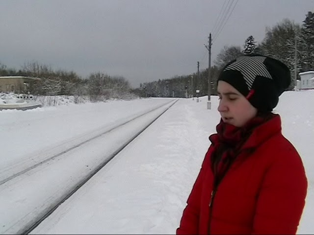 Изображение предпросмотра прочтения – АнгелинаЧепелева читает произведение «На железной дороге» А.А.Блока