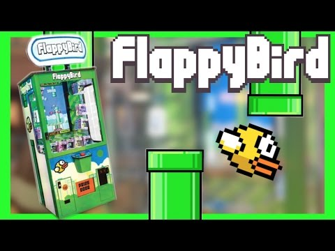 ★Beating The Flappy Bird Arcade Game Again!! ~ ClawTuber