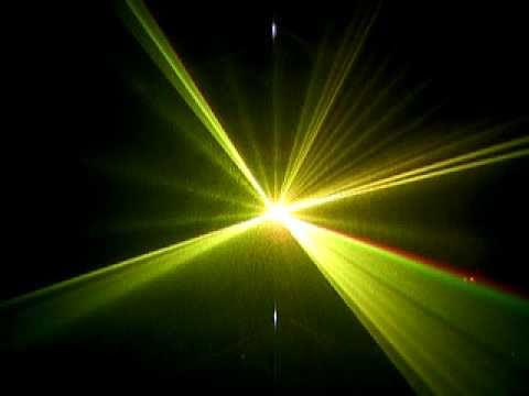 Đèn laser 3 màu quét tia rộng chuyên nghiệp - Đèn sân khấu