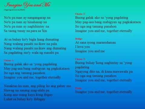 Imagine You and Me song - tagalog version by RAV4