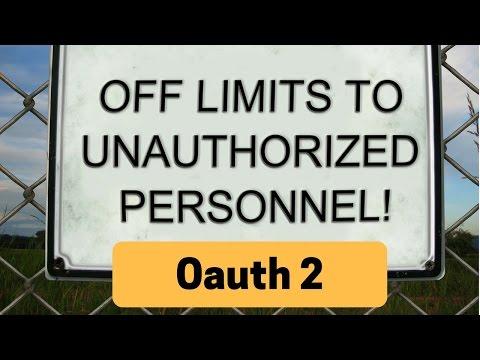 Angular 2 – Building the OAuth2 server using nodeJS | T-Pub :)