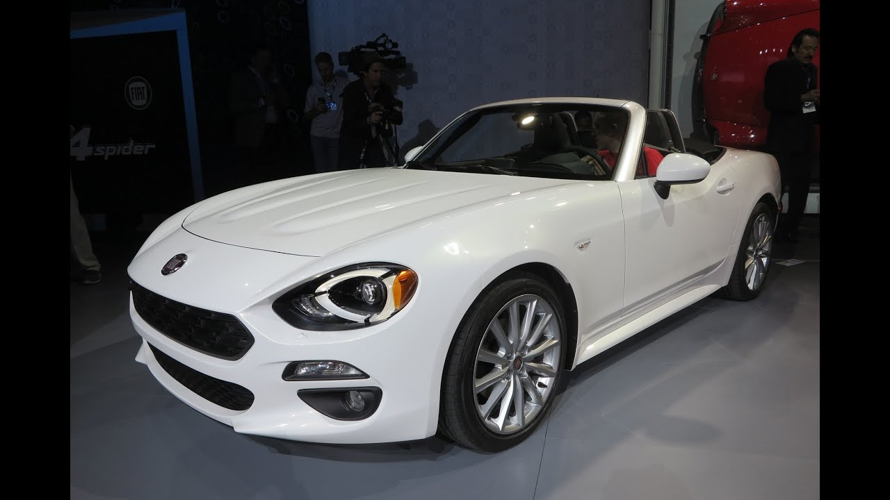 2017 fiat 124 spider 2015 l a auto show youtube. Black Bedroom Furniture Sets. Home Design Ideas