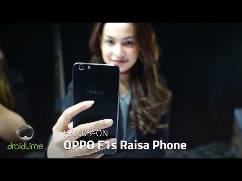 OPPO F1s Raisa Phone Hands-on Indonesia