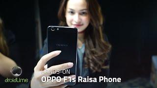 OPPO F1s Raisa Phone Hands-on
