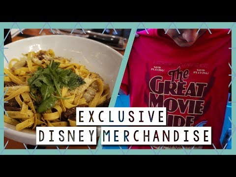 Exclusive Disney Merchandise and Captain's Grille Review  | Walt Disney World Vlog August 2017
