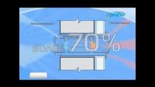 Рекуперация тепла рекуператором Прана - что это такое?(Рекуператор Прана- это система энергосберегающей вентиляции : сохранения тепла зимой, кондиционирование..., 2014-05-14T08:19:38.000Z)