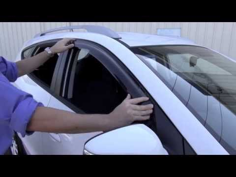 Slimline Weathershield Installation Hyundai ix35