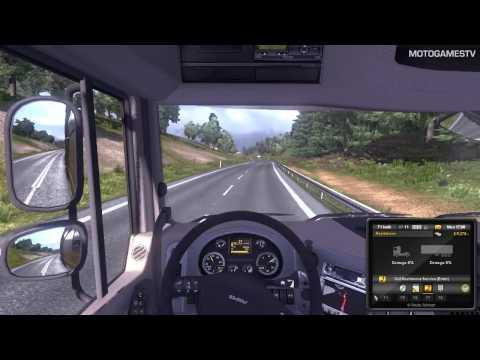 Euro Truck Simulator 2 Demo - Quick Mission Gameplay