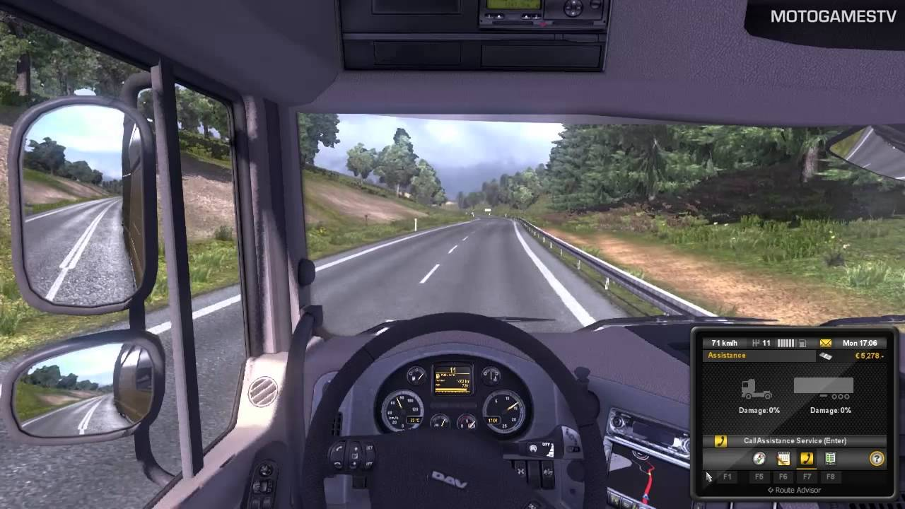 Euro Truck Simulator 2 Demo Quick Mission Gameplay Youtube