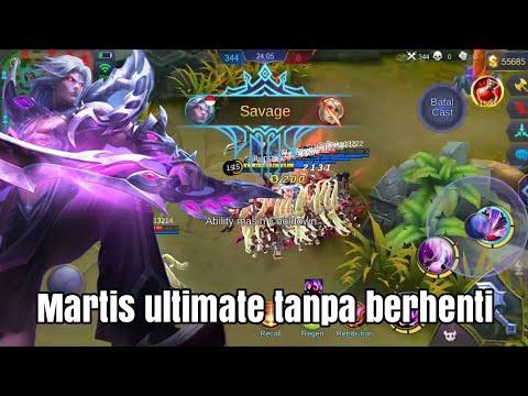 Martis ultimate berkali kali tanpa berhenti-mobile legends
