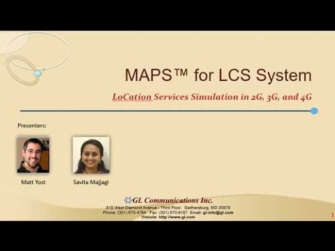 LoCation Services LCS In Mobile Networks - Architecture And Test Methods