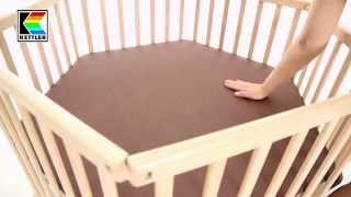 Манеж Kettler(Манеж — непременный атрибут детской комнаты! Каждый родитель рано или поздно приходит к мысли о целесообра..., 2013-08-30T18:24:13.000Z)