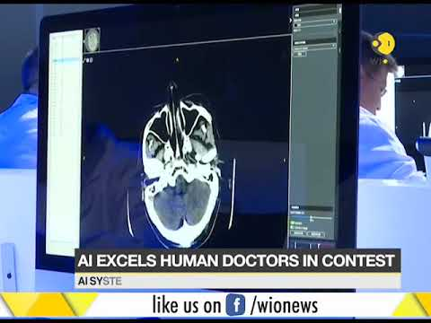 China: Artificial intelligence better than human doctors