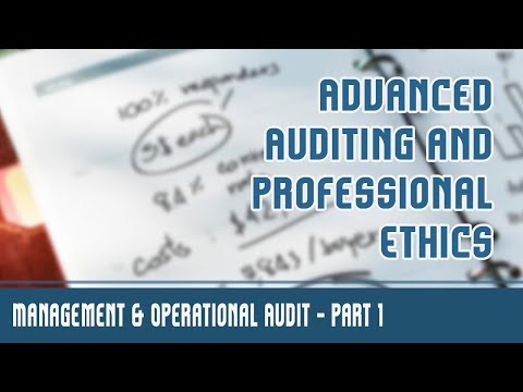 Management & Operational Audit | Management Audit | Financial Audit | Introduction | Part 1