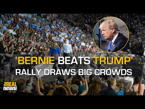 'Bernie Beats Trump' Rally Draws Thousands On Eve Of New Hampshire Primary