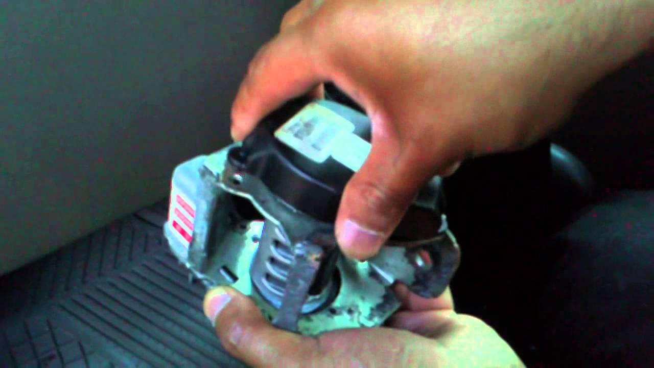 Desarmando Motor De Cinturon De Seguridad Parte 4 Youtube