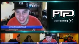 Repeat youtube video PTFOLive Ep.34 w/ Guest @EugeneYackle Drunk Moms, Beer Guessing & PTFO Takeover