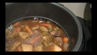 Venison Stew in the Power Cooker Video