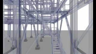 Steel Structure Modeled With Bocad - Struttura Metallica Creata Con Bocad