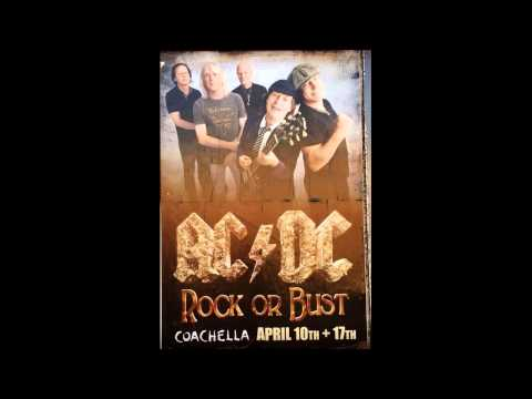 ACDC  Rock N Roll Train   1st Week of Coachella 2015