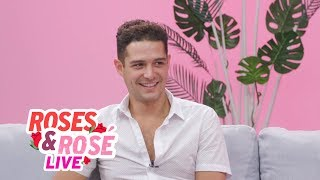 Wells Adams Talks Bartending & Bachelor In Paradise Season Finale | Roses And Rose LIVE