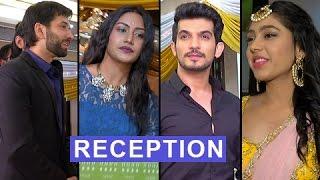 TV Celebs SPOTTED At Ishqbaaz Fame Navina Bole aka Tia's RECEPTION Ceremony