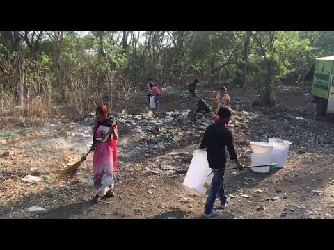 Pune: Locals join hands to clean up bird sanctuary