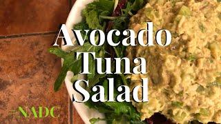 Avocado Tuna Salad NADC neenos essentials