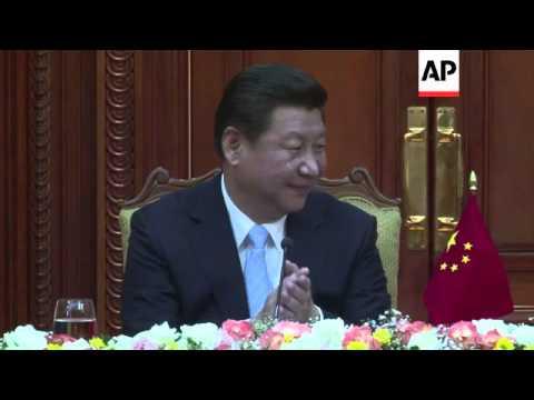 Chinese President Xi Jinping visits Sri Lanka, meets President Rajapaksa
