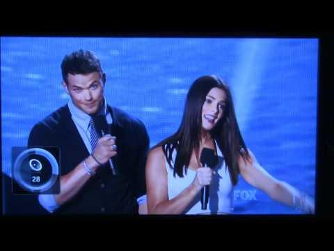 Taylor Lautner, Kellan Lutz, Ashley Green Presenting at the Teen Choice Awards