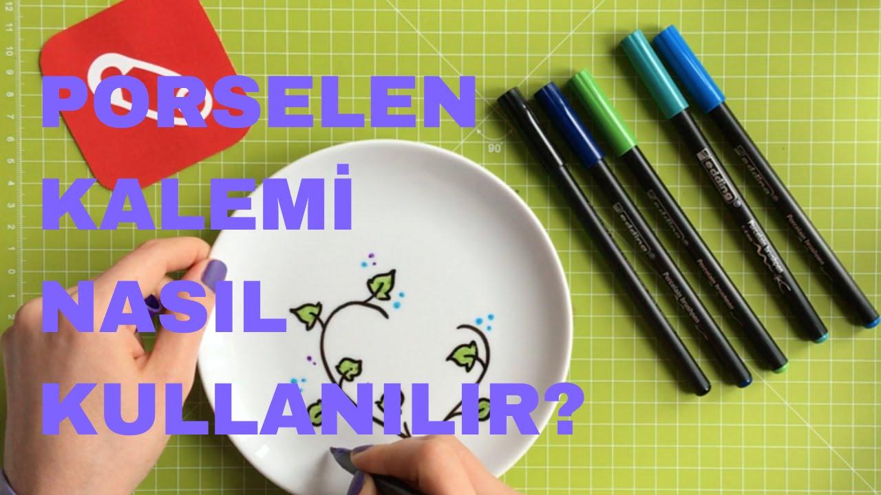 10marifet Porselen Kalemleri Ile Boyama Nasıl Yapılır Youtube