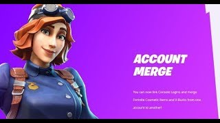 ACCOUNT MERGING NOW IN FORTNITE! How to MERGE Fortnite Accounts!