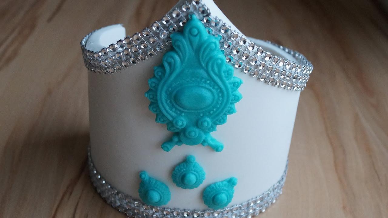 Как покрыть торт мастикой/ Идеальное покрытие мастикой/ Обтяжка сахарной пастой на 123...